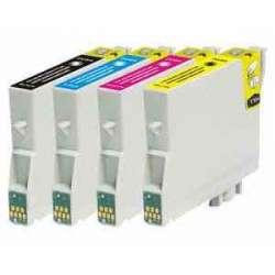 Cartuchos Epson T0611 T0612 T0613 T0614 Compatible
