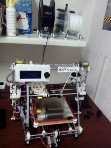 AsPrusa impresora 3D evolucionada