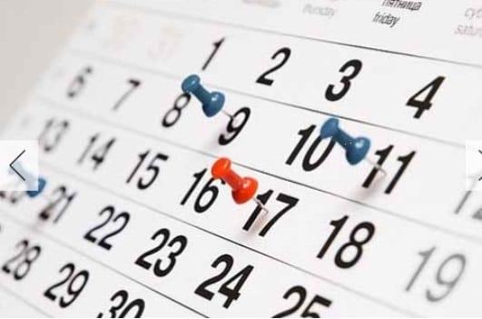 Calendarios para descargar e imprimir