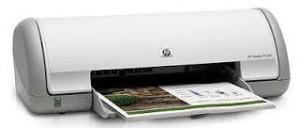 Hoja de prueba impresoras HP Deskjet series D1300 D1400 D2300 y D2400