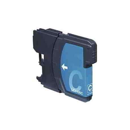 Lc-980/1100c Cartucho Brother Compatible Cian