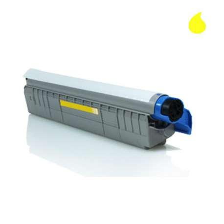 C910Y OKI Toner Compatible Amarillo