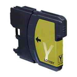 Lc-980y Cartucho Brother Compatible Amarillo