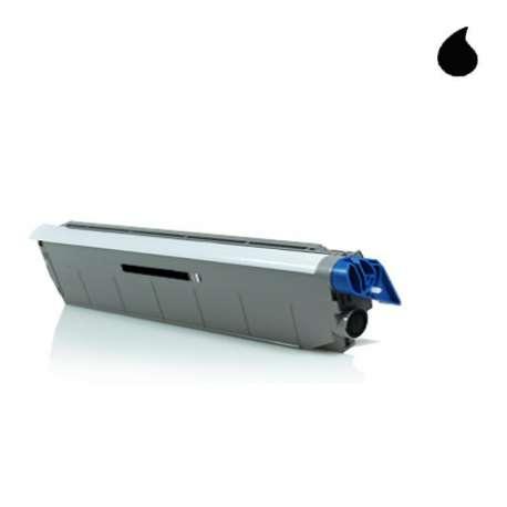 C610BK Toner Compatible OKI Negro 44315308