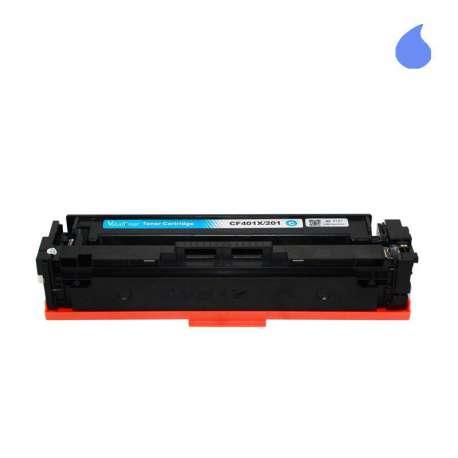 CF401X Toner HP Compatible Cian 201X