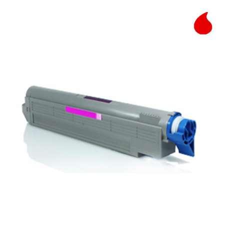 C910M OKI Toner Compatible Magenta
