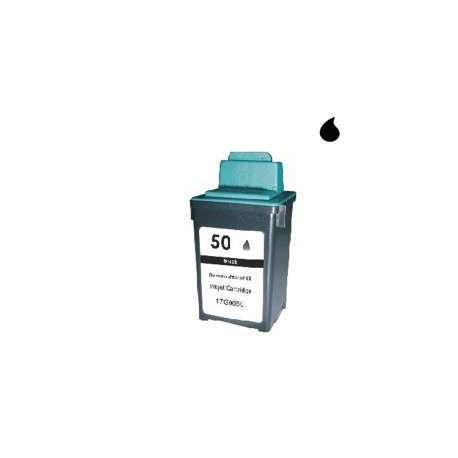17G0050 Cartucho Reciclado Lexmark Negro (N 50) 40 Ml