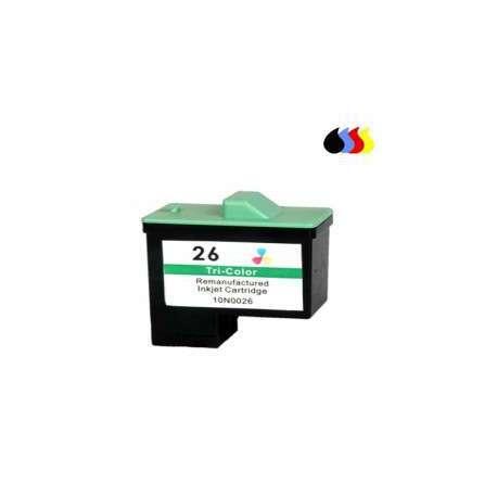 10N0026 Cartucho Reciclado Lexmark Color (N 26) 3X5 Ml