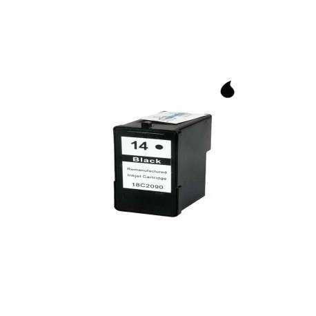 018C2080E Cartucho Reciclado Lexmark Negro (N 14) 22 Ml