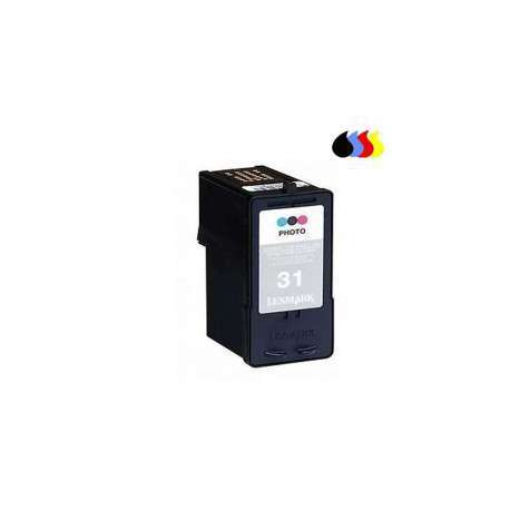 18V0031 Cartucho Reciclado Lexmark Color (N 31) 25 Ml