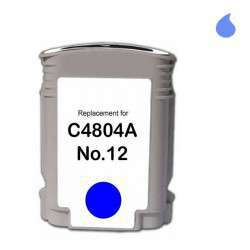 C4804A Cartucho Compatible Hp Cyan (N 12C) 55 Ml