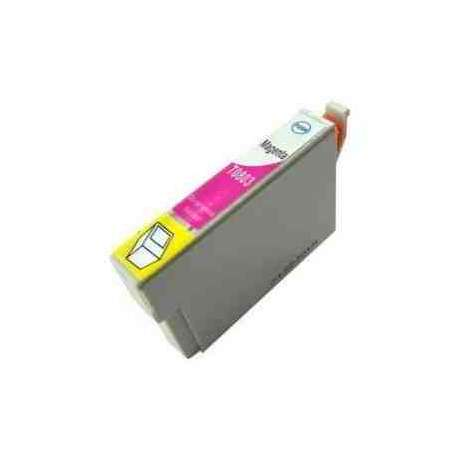 Cartucho Epson T0802 Cian Compatible