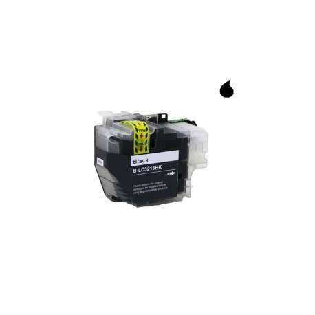 Lc-3213/3211Bk Cartucho Compatible Brother Negro (15Ml)