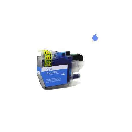 Lc-3213/3211C Cartucho Compatible Brother Cyan (10Ml)