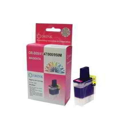 Lc-900m Cartucho Brother Compatible Magenta