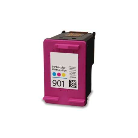 Cartucho HP Color 901 XL Reciclado C6656AE