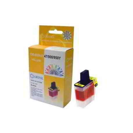 Lc-900y Cartucho Brother Compatible Amarillo