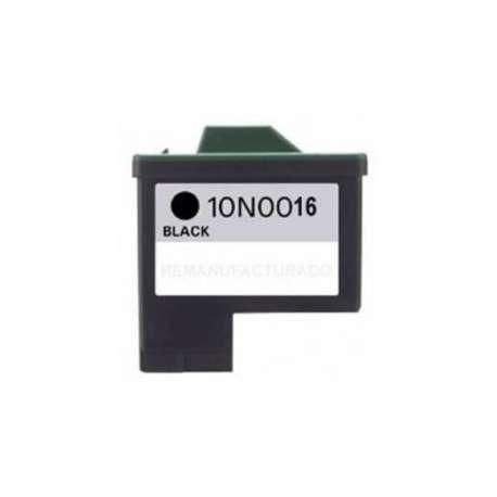 Cartucho Reciclado Lexmark 16 negro