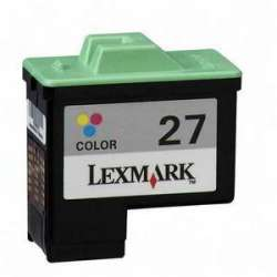Cartucho Reciclado Lexmark 27 color