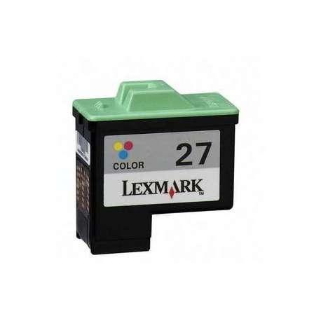 Cartucho Reciclado Lexmark 27 color