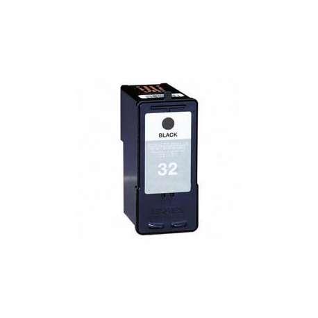 Cartucho Reciclado Lexmark 32 negro