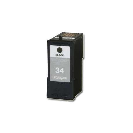 Cartucho Reciclado Lexmark 34 negro