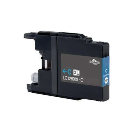 Lc-1280xlc Cartucho Brother Compatible Cian