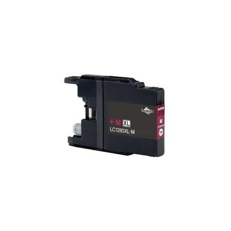 Lc-1280xlm Cartucho Brother Compatible Magenta