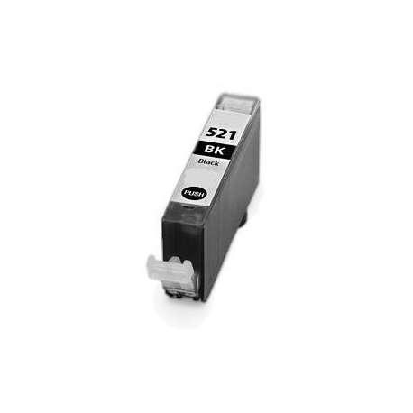 Cartucho Canon CLI-521bk Negro Compatible
