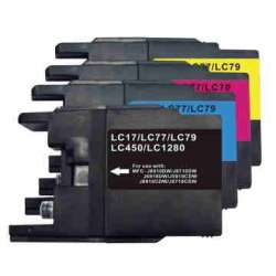 Pack de Cartuchos Lc-1280 Lc-1240 Lc-1220 Brother Compatible