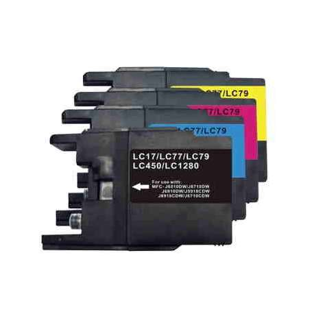 Cartuchos Lc-1280 Brother Compatible