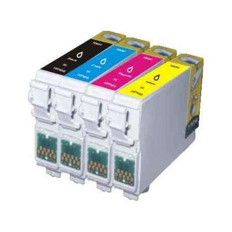 Cartuchos Epson T0711 T0712 T0713 T0714 Compatible