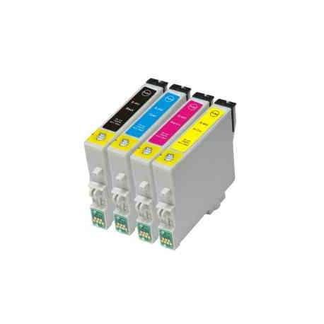Cartuchos Epson T0441 T0442 T0443 T0444 Compatible