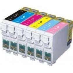 Cartuchos Epson T0801 T0802 T0803 T0804 T0805 T0806 Compatibles