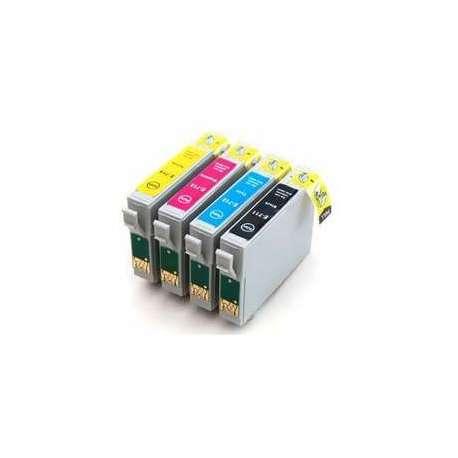 Cartuchos Epson T0891 T0892 T0893 T0894 Compatibles