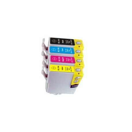 Cartuchos Epson T1281 T1282 T1283 T1284 Compatibles