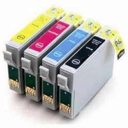 Cartuchos Epson T1291 T1292 T1293 T1294 Compatibles