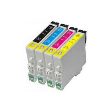 Cartuchos Epson T0551 T0552 T0553 T0554 Compatibles
