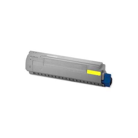 C810 C830 Toner OKI Amarillo Compatible