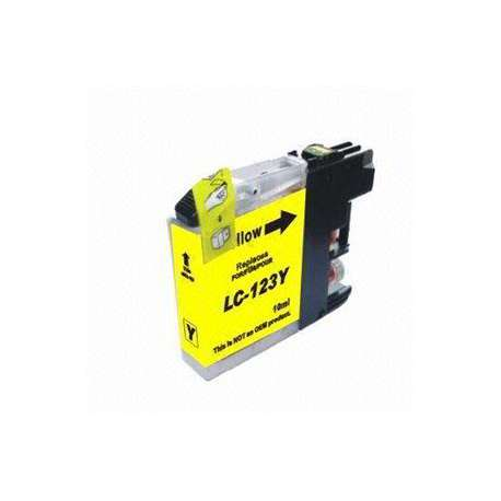 Lc-121y Cartucho Brother Compatible Amarillo