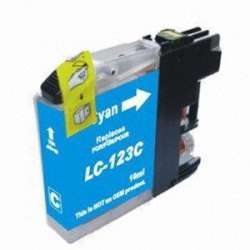 Lc-123c Cartucho Brother Compatible Cian