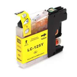 Lc-125y Cartucho Brother Compatible Amarillo