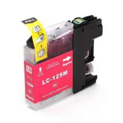 Lc-125m Cartucho Brother Compatible Magenta