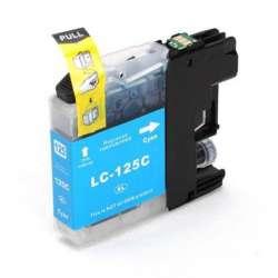 Lc-125c Cartucho Brother Compatible Cian