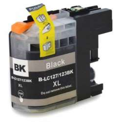 Lc-127bk Cartucho Brother Compatible Negro