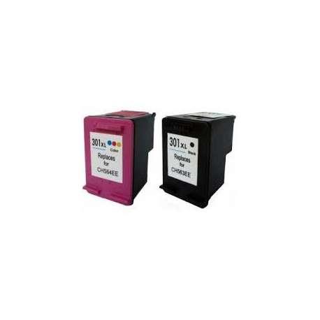 Cartuchos Compatibles HP 301