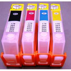 Cartuchos HP 364 XL Compatibles