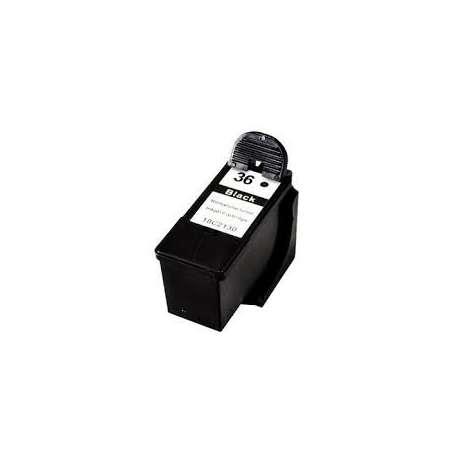 Cartucho Reciclado Lexmark 36 negro