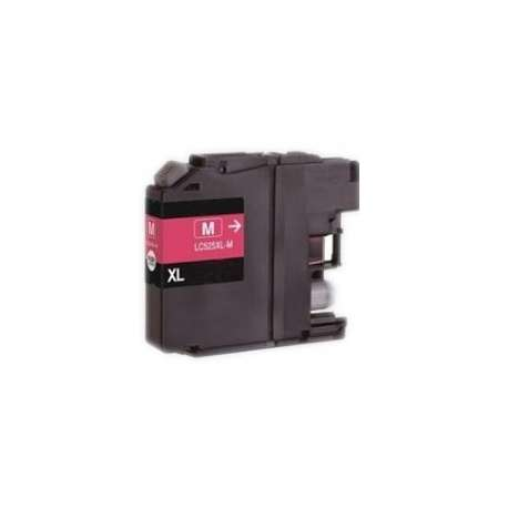 Lc-525m Cartucho Brother Compatible Magenta