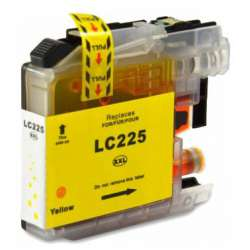 Lc-225xl Cartucho Brother Compatible Amarillo